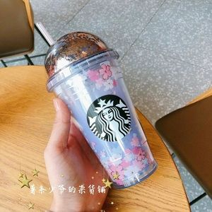 Starbucks Sakura 2018 purple tumbler